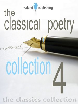 cover image of The Classical Poetry Collection, Volume 4