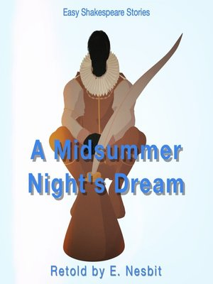cover image of A Midsummers Night's Dream Retold by E. Nesbit