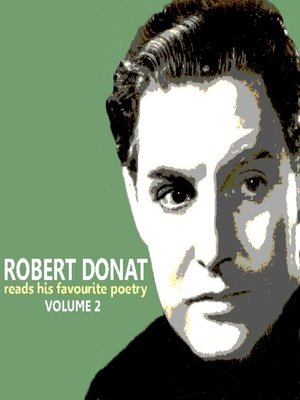 cover image of Robert Donat Reads His Favourite Poetry, Volume 2