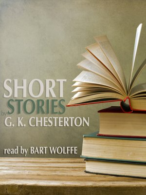 cover image of Short Stories by G. K. Chesterton