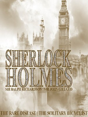 cover image of Sherlock Holmes: The Rare Disease, The Solitary Bicyclist