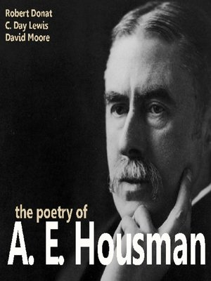 cover image of The Poetry of A. E. Housman