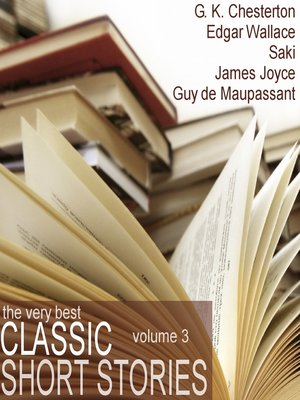 cover image of The Very Best Classic Short Stories - Volume 3