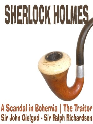 cover image of Sherlock Holmes: A Scandal in Bohemia, The Traitor