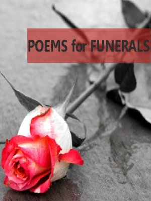 cover image of Poems for Funerals