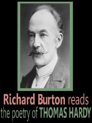 cover image of Richard Burton Reads the Poetry of Thomas Hardy