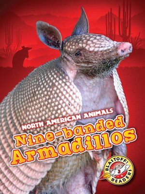cover image of Nine-banded Armadillos