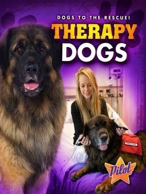 cover image of Therapy Dogs