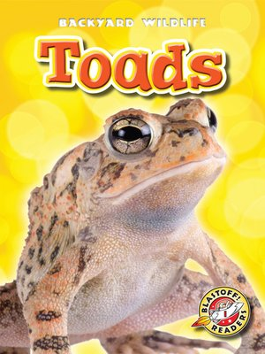 cover image of Toads