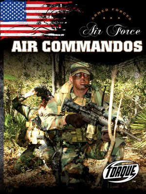 cover image of Air Force Air Commandos
