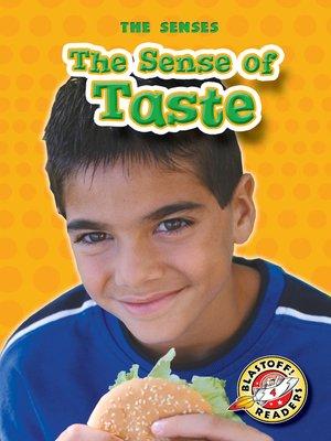 cover image of The Sense of Taste