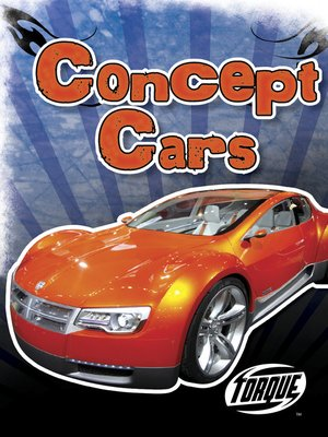 cover image of Concept Cars