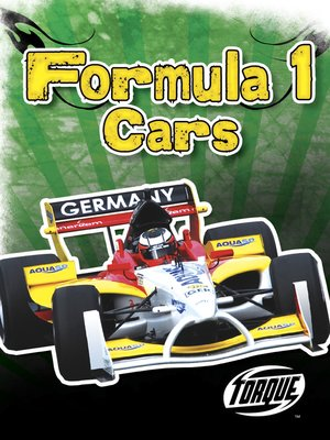 cover image of Formula 1 Cars