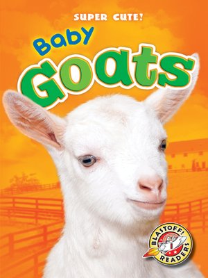 cover image of Baby Goats