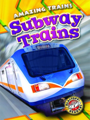 cover image of Subway Trains