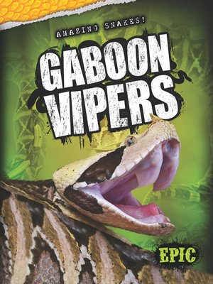 cover image of Gaboon Vipers