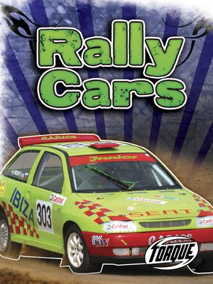 cover image of Rally Cars