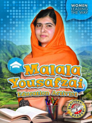 cover image of Malala Yousafzai: Education Activist