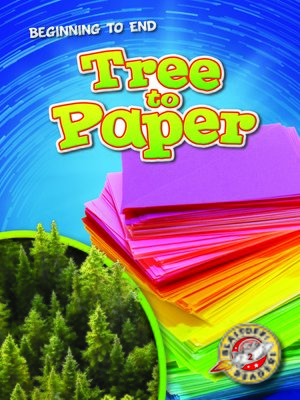 cover image of Tree to Paper