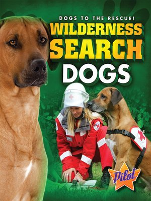 cover image of Wilderness Search Dogs