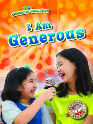 cover image of I Am Generous