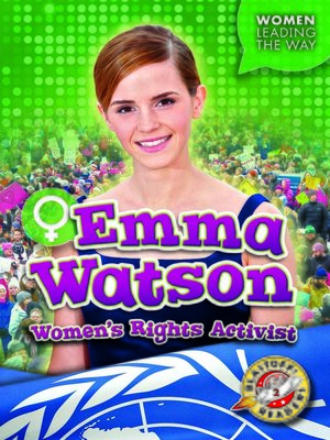 cover image of Emma Watson: Women's Rights Activist