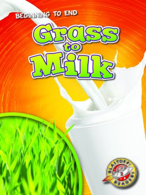 cover image of Grass to Milk