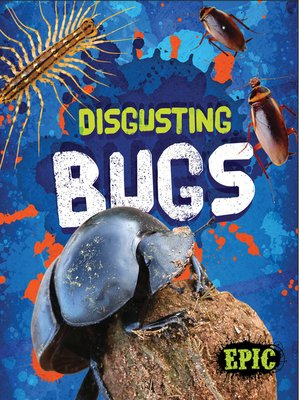 cover image of Disgusting Bugs