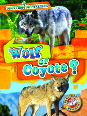 cover image of Wolf or Coyote?