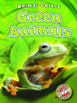 cover image of Green Animals