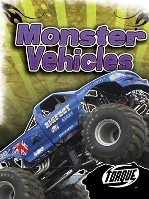 cover image of Monster Vehicles