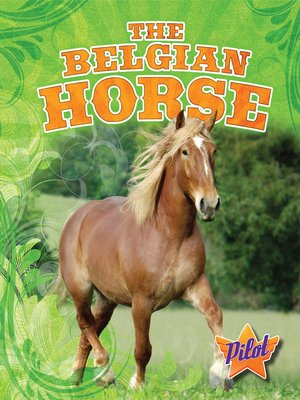 cover image of The Belgian Horse
