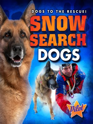 cover image of Snow Search Dogs