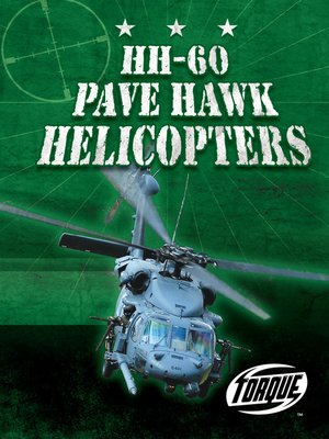 cover image of HH-60 Pave Hawk Helicopters