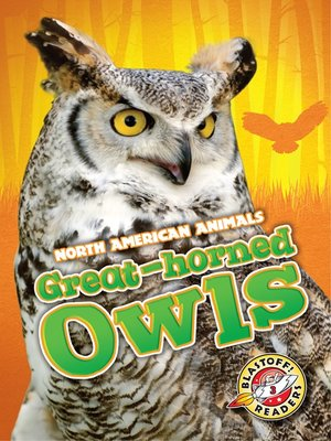 cover image of Great-horned Owls