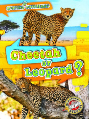 cover image of Cheetah or Leopard?