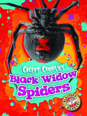 cover image of Black Widow Spiders