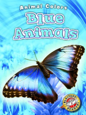 cover image of Blue Animals