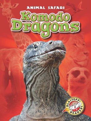 cover image of Komodo Dragons