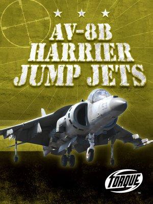 cover image of AV-8B Harrier Jump Jets