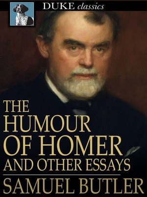 cover image of The Humour of Homer
