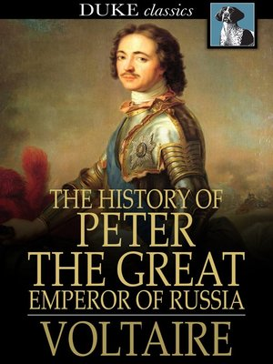 cover image of The History of Peter the Great