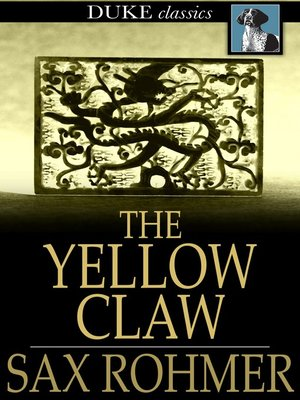 cover image of The Yellow Claw