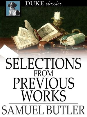 cover image of Selections From Previous Works