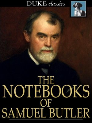 cover image of The Notebooks of Samuel Butler