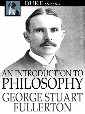 cover image of An Introduction to Philosophy