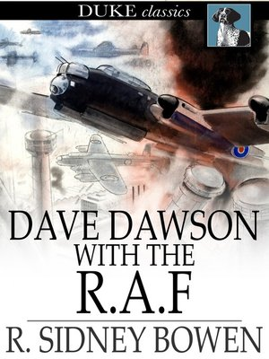 cover image of Dave Dawson with the R. A. F.