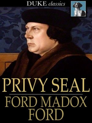 cover image of Privy Seal: His Last Venture