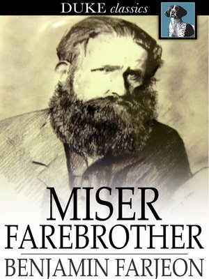 cover image of Miser Farebrother