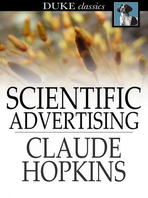 cover image of Scientific Advertising